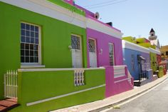 Colores fuertes para fachadas de casa