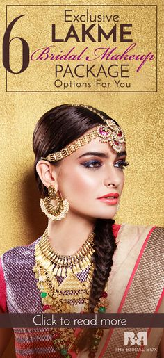 6 Exclusive Lakme Bridal Makeup Package Options For You!