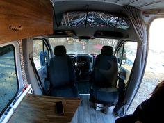 Minivan Camper Conversion, Sprinter Van Conversion, Bus Camper, Rv Campers, Grinch Stuff, Fold Down Beds, Minivan Camping, 4x4 Van, Van Home