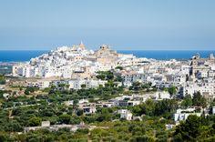 """Ostuni, the """"Citta Biancha"""", Puglia  Villas in Puglia from The Thinking Traveller"""