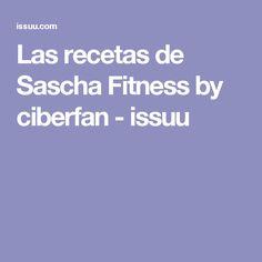 Las recetas de Sascha Fitness by ciberfan - issuu