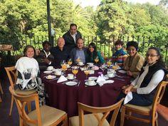 Iniciando nuevo semestre con mis compañeros profesores del Colegio Superior de Gastronomía.