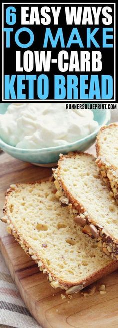 for some of the best low-carb keto bread recipes? Then you're in the right place. These ketogenic bread recipes is are exactly what you need to stick to a low-carb eating plan. Low Carb Bread, Keto Bread, Low Carb Keto, Low Glycemic Fruits, Low Glycemic Diet, Healthy Bread Recipes, Low Carb Recipes, Eating Banana At Night, Low Carb Protein Shakes