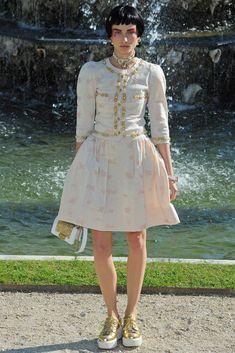 Chanel Resort 2013 Fashion Show - Andreea Diaconu