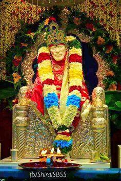 """Om Sai Namoh Namah Shri Sai Namoh Namah Jai Jai Sai Namoh Namah Satguru Sai Namoh Namah""  I wish you all a very Happy Baba's Day,  May Sai ji bless us all with full grace.    ❤️ॐOM SAI RAMॐ❤️ #sairam #shirdi #saibaba #saideva  Please share; FB: www.fb.com/ShirdiSBSS Twitter: https://twitter.com/shirdisbss Blog: http://ssbshraddhasaburi.blogspot.com  G+: https://plus.google.com/100079055901849941375/posts Pinterest: www.pinterest.com/shirdisaibaba"