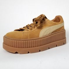 a591abea2925 NWT Puma Fenty by Rihanna Suede Cleated Creeper Sneakers