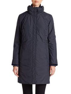 ANDREW MARC Fur-Trimmed Parka. #andrewmarc #cloth #parka