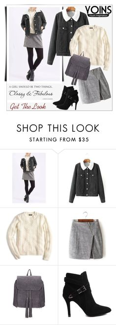 """""""Yoins"""" by water-polo ❤ liked on Polyvore featuring mode, J.Crew, Chanel, polyvoreeditorial et yoins"""