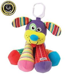 """Puppytunes - Musical baby toy, by Lamaze.  Adorable dog character with a different note in each of his four legs. Makes a great complement to Octotunes baby toys. A great Lamaze baby toy gift item!  Measures 8"""" high.   Age appropriate - birth and up."""