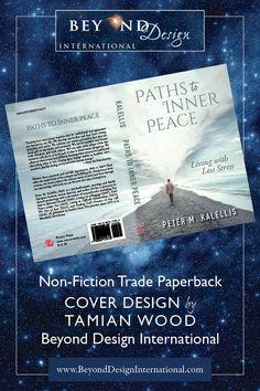 Non-Fiction trade paperback book cover design by Tamian Wood of Beyond Design International