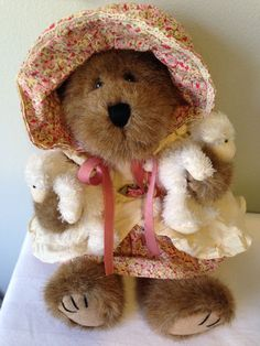 BOYD'S BEARS Little Bearpeep and Friends TJ's Best Dressed Collection  #AllOccasion