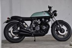 Taimoshan Cycle Works - Green Honda CB750 Brat racer