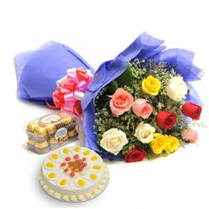 Planning To Send Birthday Gifts Mysore For Your Loved Ones On Their Special Day A Bunch Of Flowers And Delicious Cakes Same