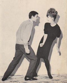 O Twist era a dança dos anos 60   .