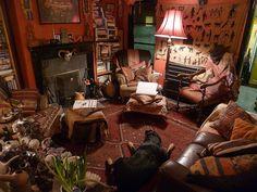 Shanti in the lounge by goddessofxanadu, via Flickr