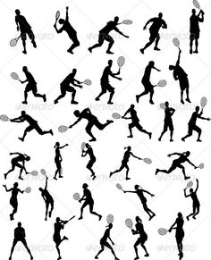 Buy Set of Tennis Players Silhouettes by angelp on GraphicRiver. Set of tennis players silhouettes. Fully editable EPS 8 vector illustration, Layered PSD file and High Resolution RGB. Best Hobbies For Men, Unusual Hobbies, Easy Hobbies, Hobbies To Take Up, Hobbies For Couples, Hobbies For Women, Hobbies That Make Money, Hobby Lobby, Hobby Room