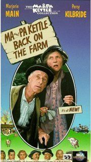 Classic movie of Ma and Pa Kettle I grew up watching!~