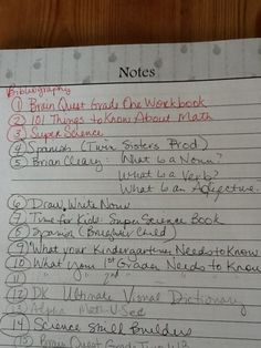 A short, sweet sneak peek at our homeschool lesson plan bibliography