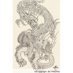 Image result for horiyoshi iii dragon