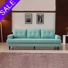 2 Seater Sofa Loveseat Lounge Chaise Couch Living Room Furniture Fabric Blue | Home & Garden, Furniture, Sofas, Loveseats & Chaises | eBay!