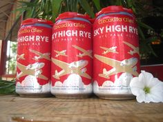 Sky High Rye now available in cans!