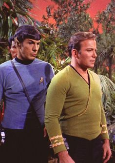 Spock/Kirk a scene from the tv series