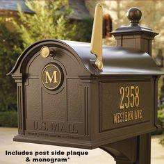 Balmoral Mailbox Package