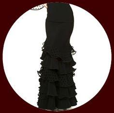 Cecilia flamenco skirt $158