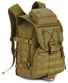 "Main Material: Nylon Size: H: 19"" L:12"" W:9.1"" Interior: This Ranger inspired backpack has three separate compartments. The first of which is equipped with a padded laptop sleeve. This sleeve is compo"