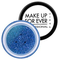 What it is: A versatile glitter makeup for the face and body.  What it does: A catwalk just wouldn't be a catwalk without glitters. These lightweight, fine particles of bright light add glamour to any type of makeup—on the face or body.