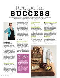 Recipe for Success: Read more from Founder and Group CEO, Annora Mostert