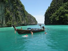 Phi Phi Islands, Thailand, This is part of my trip to Thailand I love the tranquility that I can enjoy just right now.