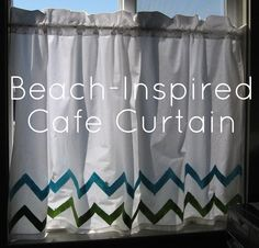 Cafe Curtain Tutorial