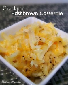 You will love this easy side dish made in the slow cooker! Tastes just like Cracker Barrel!