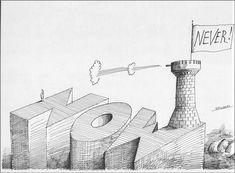 "Saul Steinberg, from ""The Inspector"", published byPenguin Books, 1976 (first published by The Viking Press 1973)"