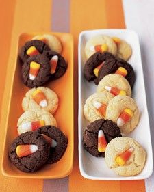 Candy Corn Sugar Cookies~