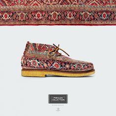 Ковровые ботинки