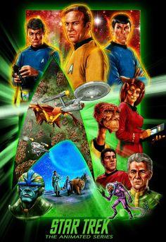 Star Trek Animated Series, Star Trek Original Series, Star Trek Show, Star Wars, Star Trek Posters, Animation Series, The Originals, Stars, Artwork
