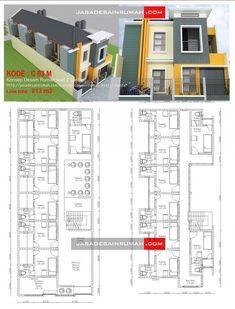 Konsep Desain Rumah Kost 2 Lantai @ Jasa Desain Rumah - Desain Rumah Kost 2 Lantai