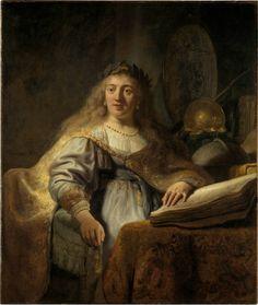 Rembrandt van Rijn (1606–1669), Minerve, 1635