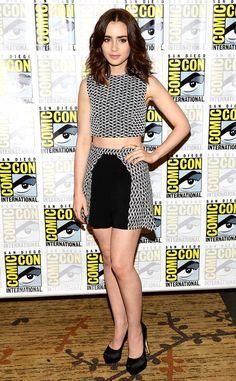 Lily Collins at 2013 Comic-Con