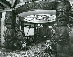 KONA KAI RESTAURANT    City Ave, Bala Cynwyd 1961 ~ Jacob Stelman: Architectural Photography, 1936-1970-Restaurants/Hospitality