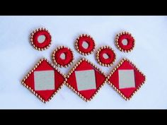 Hand embroidery designs. Mirror work embroidery by hand.mirror work stitches. - YouTube