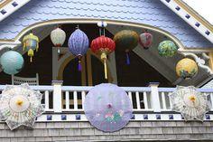Cafe Chatelaine- Life in Sweet New England: Illumination Night on Martha's Vineyard