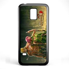 Clash Of Clans Barbarian And Archer TATUM-2674 Samsung Phonecase Cover Samsung Galaxy S3 Mini Galaxy S4 Mini Galaxy S5 Mini