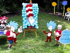 Cat in the Hat balloon game by a. modern home, via Flickr