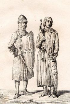 Elias I of Maine - Odo II Count of Blois ( depicting clothing of this, done Maine, King Of The World, My Ancestors, Chivalry, Coat Of Arms, Middle Ages, Rock Art, Family History, Drawing S