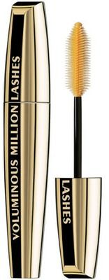 I am always in search of the perfect mascara. I've used just about everything out there- if it's at Sephora or Target, I've tried it. It's expensive being picky. Recently I was told to try this Loreal brand Voluminous Million. So far... I like it!