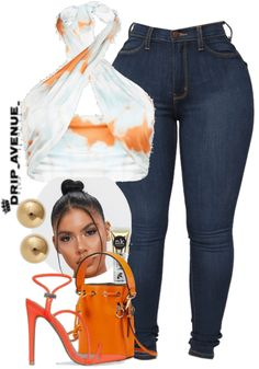 Swag Outfits For Girls, Cute Swag Outfits, Dope Outfits, Girl Outfits, Fashion Outfits, Baddie Outfits Casual, Dressy Outfits, Jean Dress Outfits, Accesorios Casual