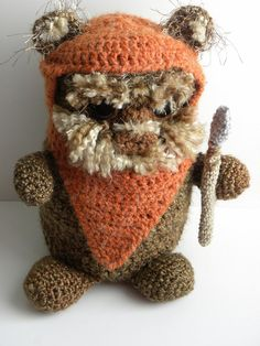 Crochet pattern for a cuddly ewok.  I can think of a few people who might enjoy this!